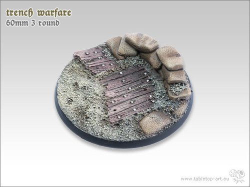 Trench warfare Bases - 60mm 3