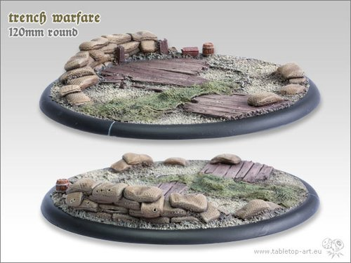 Trench warfare Base | 120mm RL