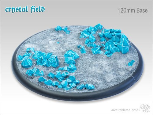 Crystal Field Bases - 120mm RL 1