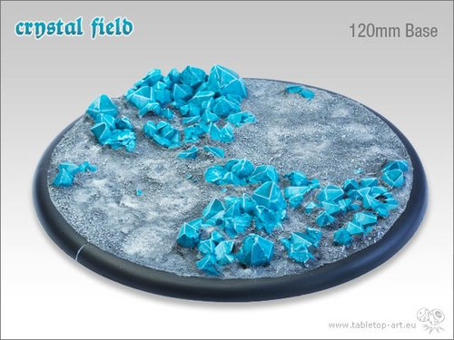 Crystal Field Bases - 120mm RL