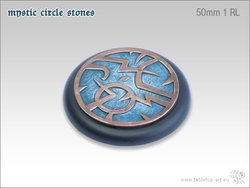 Mystic Circle Stones Base - 50mm RL 1