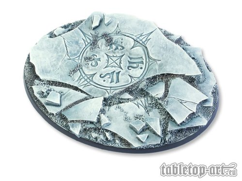 Ancestral Ruins Bases - 120mm Oval 1