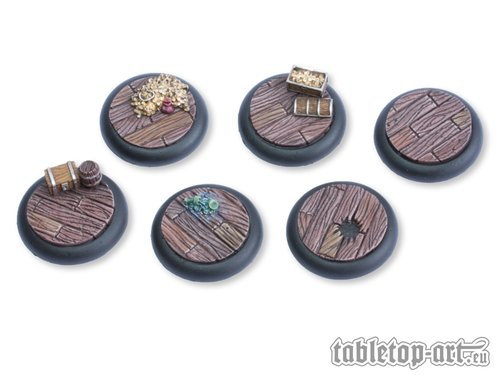 Pirate Ship Bases