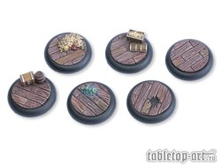 Pirate Ship Bases - 30mm RL (5)