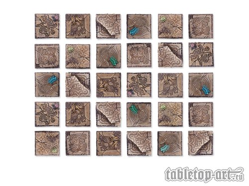 Lizard City Bases - 20x20mm