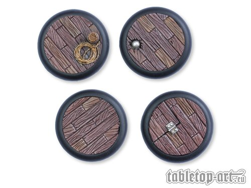 Pirate Ship Bases - 40mm RL (2)