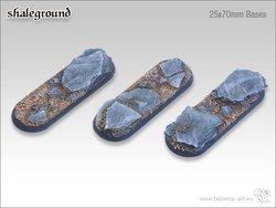 Shaleground Bases - 25x70mm (3)