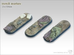 Trench warfare | 25x70mm Bases