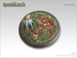 Woodland Bases - 50mm Round Lip 3
