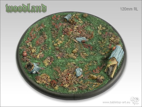 Woodland Bases - 120mm RL 1
