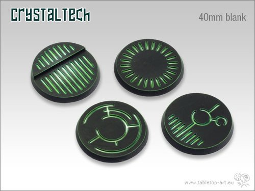 Crystal Tech Bases - 40mm BLANK (2)