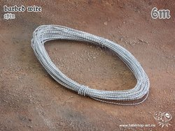 barbed wire - thin - 6m
