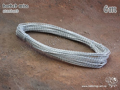 barbed wire - standard - 6m