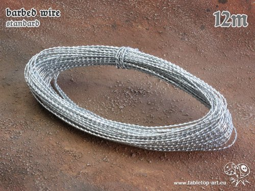 barbed wire - standard - 12m