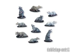 Rats miniatures set