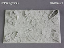 Undead Ground Bases - 150x100mm 1