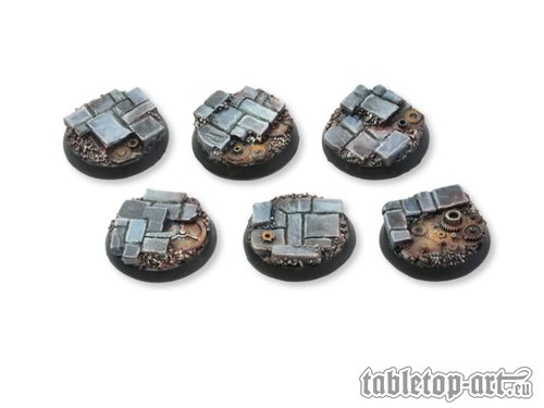 Ancient Machinery Bases - 25mm (5)