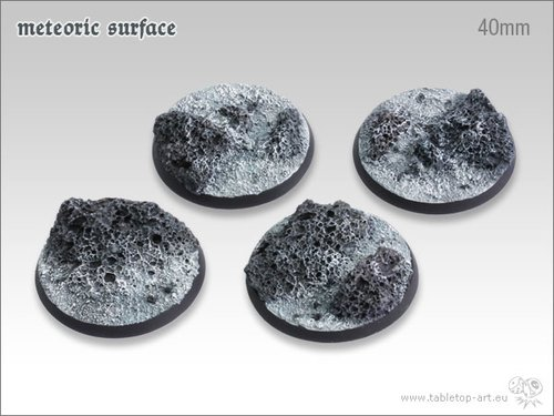 Meteoric Surface Bases - 40mm (2)