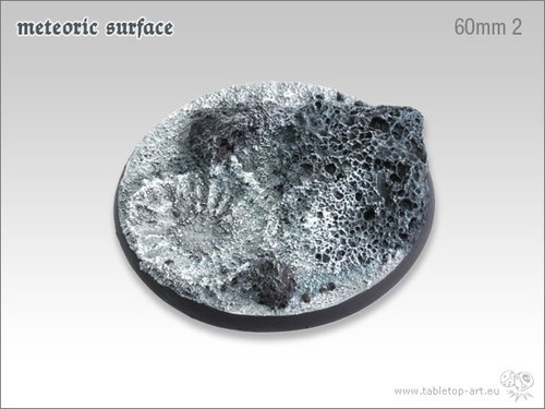 Meteoric Surface Bases - 60mm 2