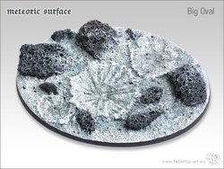 Meteoric Surface Bases - 120mm Oval 1