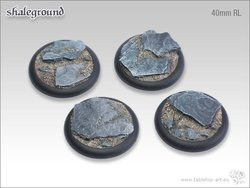Shaleground Bases - 40mm Round Lip (2)