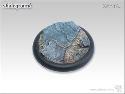 Shaleground Bases - 50mm Round Lip 1