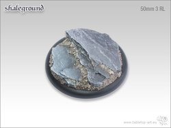 Shaleground Bases - 50mm Round Lip 3