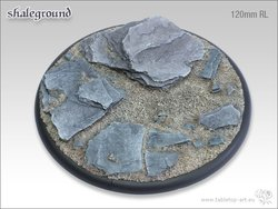 Shaleground Bases - 120mm Round Lip