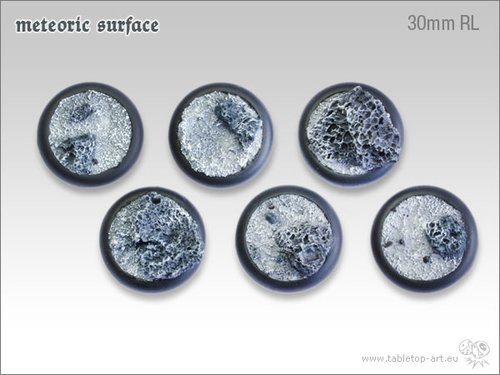 Meteoric Surface Bases - 30mm RL (5)