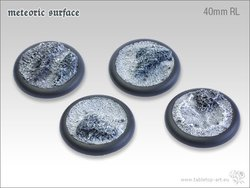Meteoric Surface Bases - 40mm Round Lip (2)