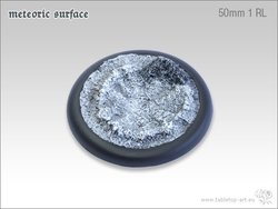 Meteoric Surface Bases - 50mm Round Lip 1