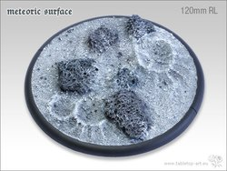 Meteoric Surface Bases - 120mm RL 1