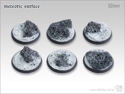 Meteoric Surface Bases - 32mm (5)