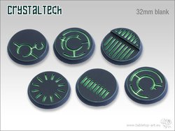 Crystal Tech Bases - 32mm BLANK (5)