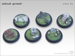 Undead Ground Bases - 30mm Round Lip (5)