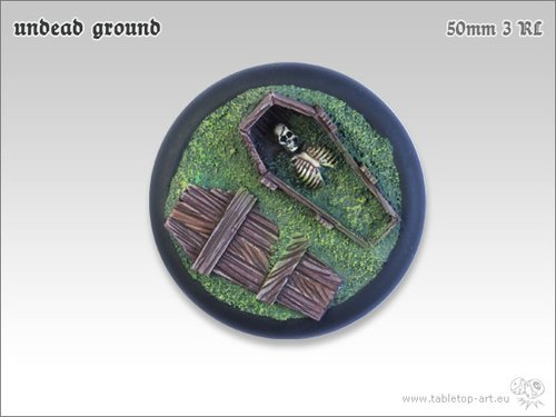 Undead Ground Bases - 50mm RL 3