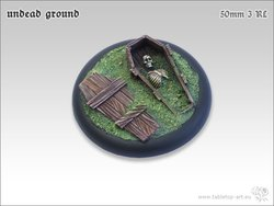 Undead Ground Bases - 50mm Round Lip 3