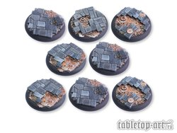 Ancient Machinery Bases - 40mm RL DEAL (8)