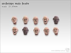 Archetype - male heads