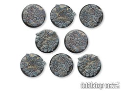 Cobblestone Bases - 40mm RL DEAL (8)