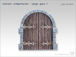 Terrain components - Large gate 1