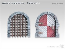 Terrain components - Doors set 1 (2)