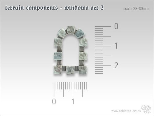 Terrain components - Windows set 2