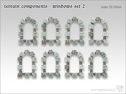 Terrain components - Windows set 2 (8)