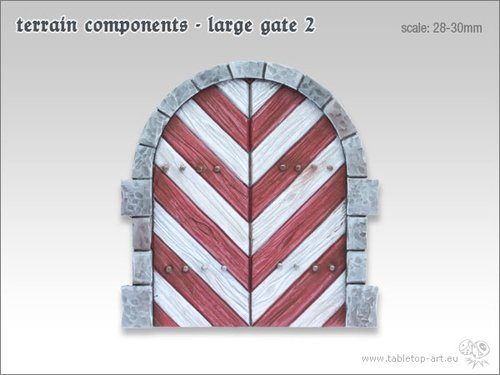 Terrain components - Large gate 2