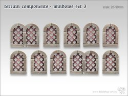 Terrain components - Windows set 3