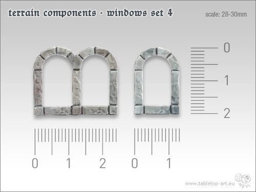 Terrain components - Windows set 4 (10)