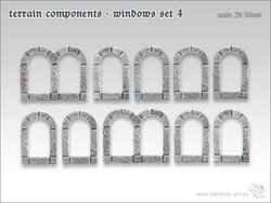 Terrain components - Windows set 4