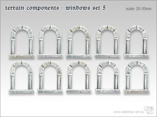 Terrain components - Windows set 5