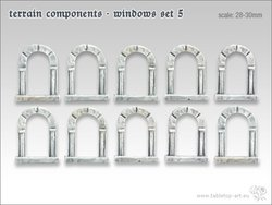 Terrain components - Windows set 5 (10)